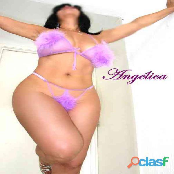 Angélica una mujer alta,nalgona y bonita.
