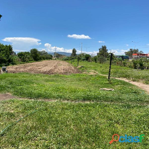 En venta terreno san gaspar 2,000 m2 1