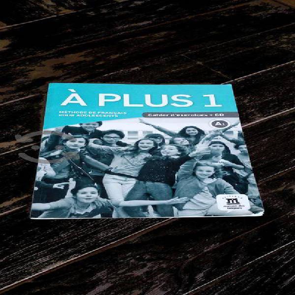 A plus 1 cahier d exercices+cd a1 aprender francés