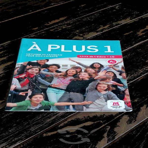 A plus 1 livre de l eleve+cd a1 aprender francés