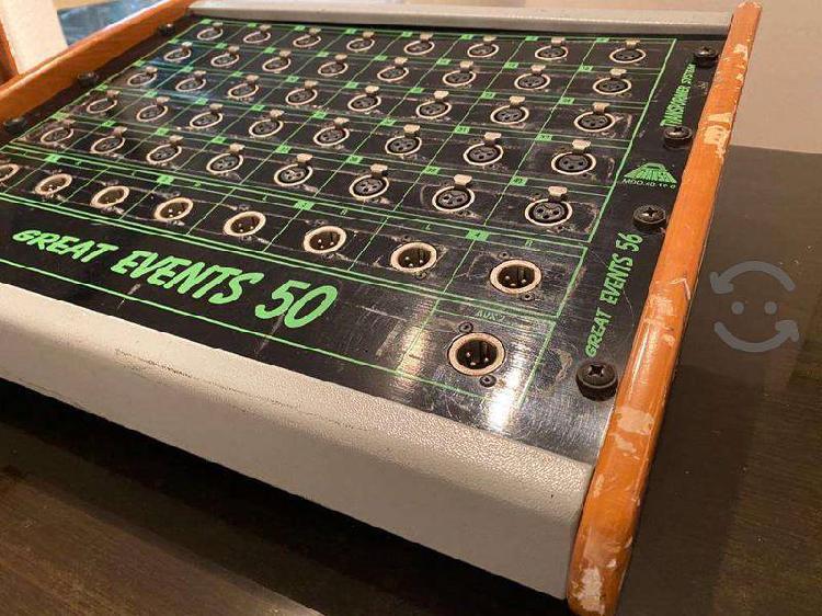 Audio Y Video Stage Box Audio Formato Uni