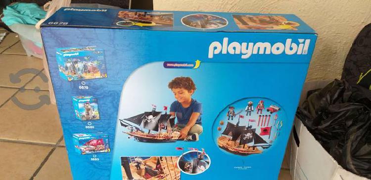 Barco pirata playmobil nuevo a mitad de precio