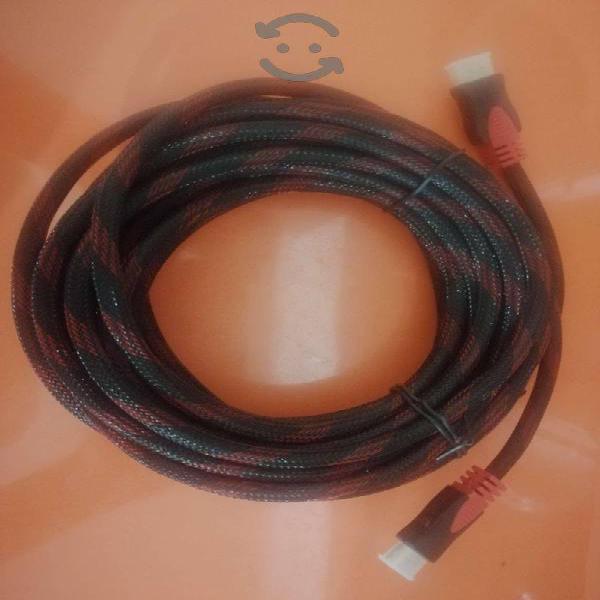 Cable hdmi de 9 metros de largo.