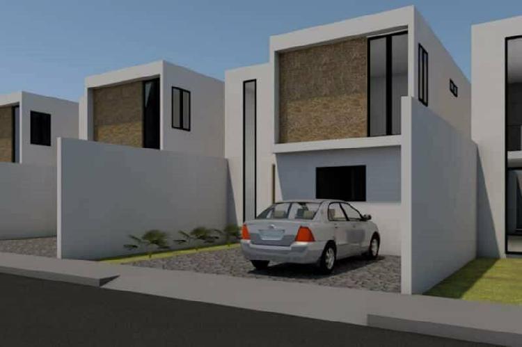 Casa con cocina amplia y tres comodas recamaras ademas de