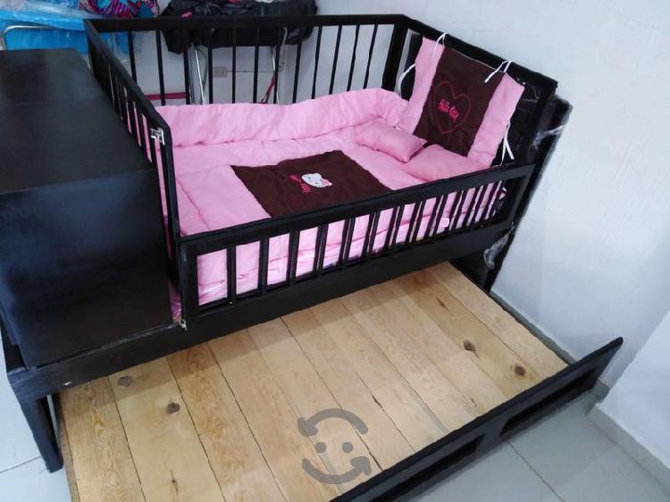 Cuna cama doble nueva