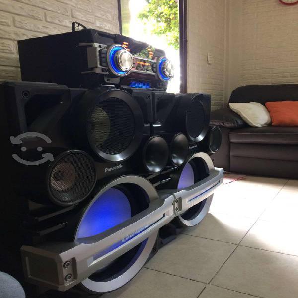 Estéreo panasonic powerlive max sc-max500