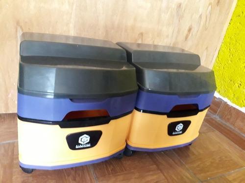 Gamecube rack accesorio japonés original con ruedas