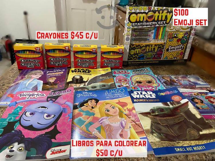 Juguetes y cosas para niños y niñas