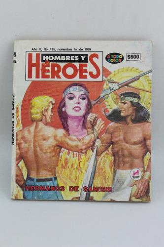 L4350 hombres y heroes -- hermanos de sangre numero 115