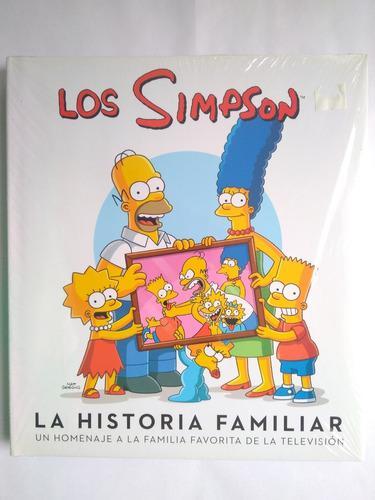 Libro los simpson la historia familiar 25 años nuevo