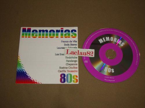 Memorias 80s 99 sony cd chayanne timbiriche fandango soda