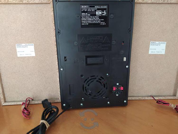 Mini componente sony mhc ec59
