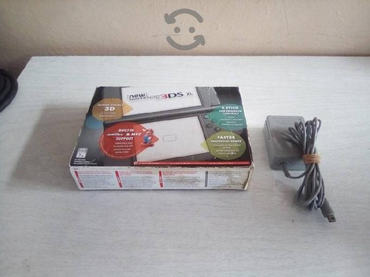 New nintendo 3ds xl + videojuegos y accesorios
