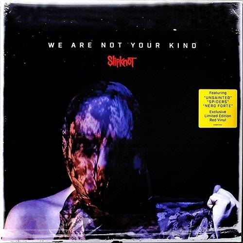 Slipknot we are not your kind limited edition red vinyl lp