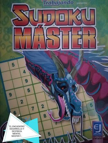 Sudoku máster/ paquete especial 1/ 4 ejemplares diferentes.