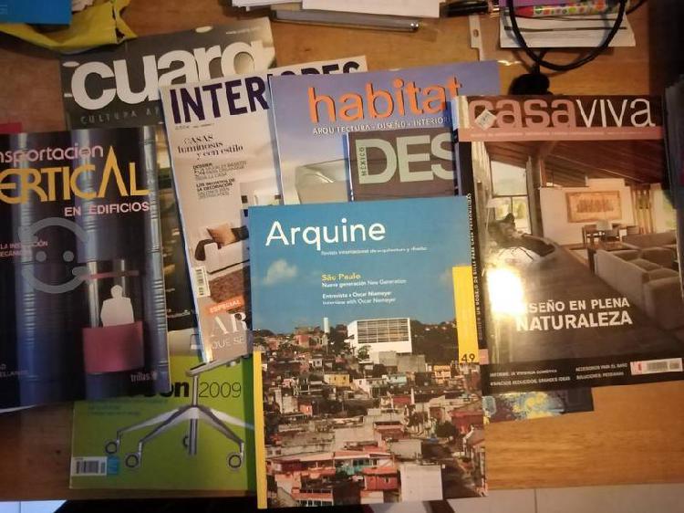 Libros y revistas de arquitectura