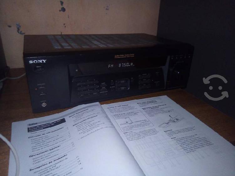 Amplificador receiver sony str-de185