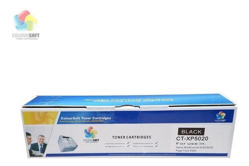 Cartucho de toner compatible xerox work centre 5020 5016