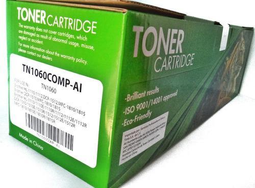 Cartucho de toner p/ brother tn1060 generico hl-1110 hl-1111