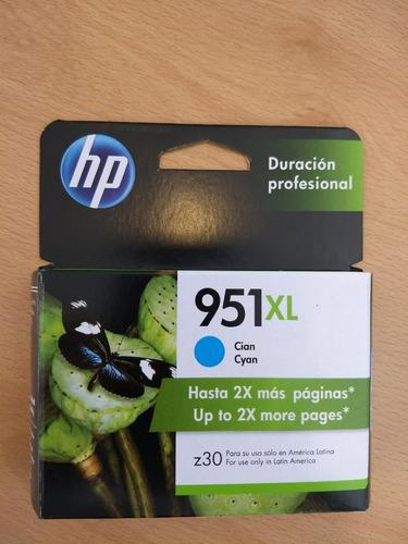 Cartucho hp 951xl cyan