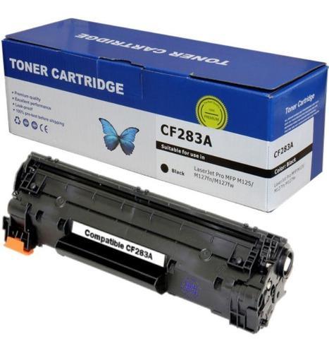 Cartucho toner compatible 83a m125 m127 m201 m225 cf283a