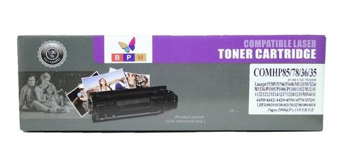 Cartucho toner compatible 85a 36a 35a 78a
