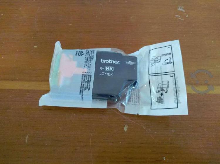 Cartucho de tinta brother lc71bk nuevo y sellado