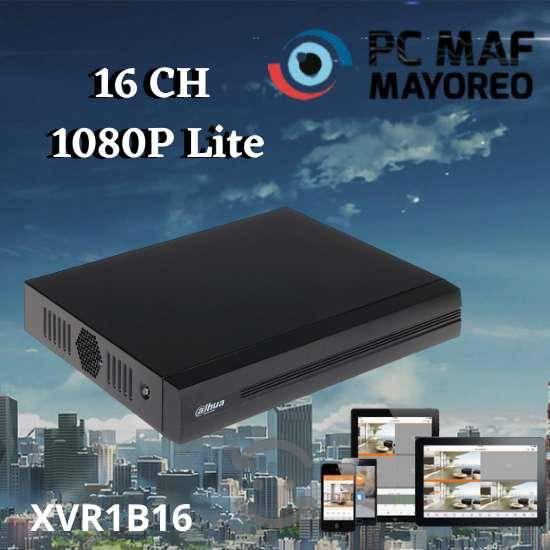 Dvr 16 canales 1080p lite pentahibrido smart audio