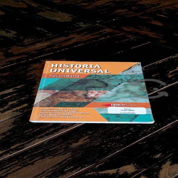 Historia universal secundaria ríos de tinta sánche