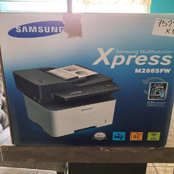 Impresora profesional samsung blanco negro toner