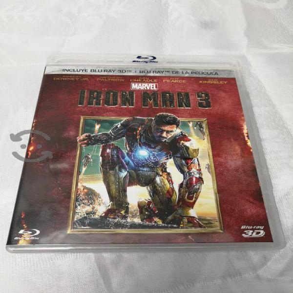 Ironman 3 3d + blueray