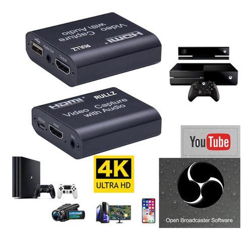 Mini 4k hdmi video capture card usb 2.0