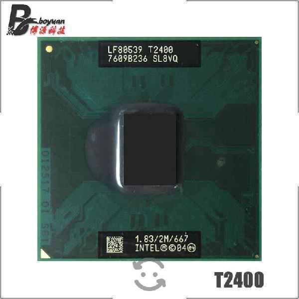 Proc intel core duo t2400 1.8ghz socketm