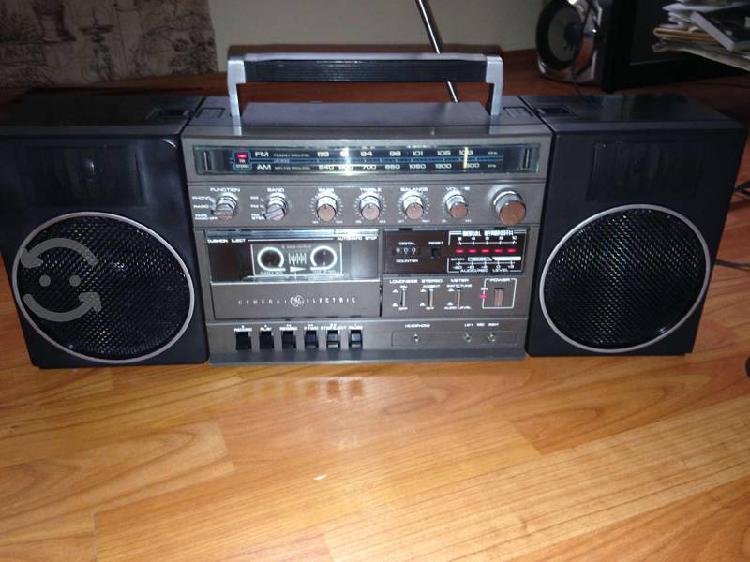 Radio grabadora general electric