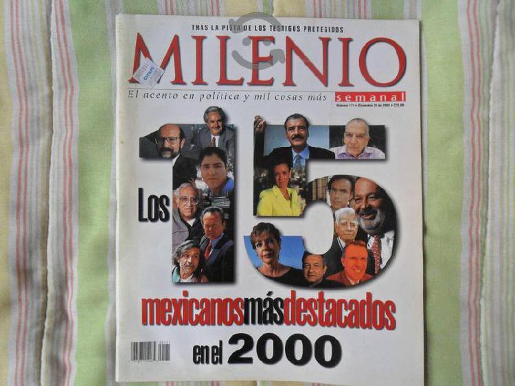 Revista milenio #171 semanal 18 diciembre de 2000
