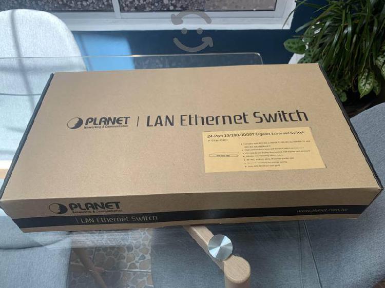 Switch planet gigabit 24 puertos