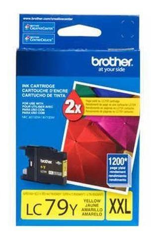 Tinta brother lc79y amarillo 1200 pag súper alto