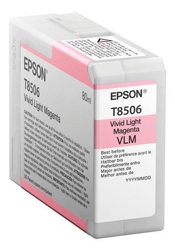 Tinta epson sc-p800 magenta vivid light