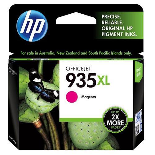 Tinta hp 935xl c2p25al color magenta alto rendimiento