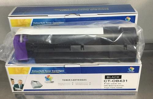 Toner compatible para oki mb461 mb491 10k envio gratis
