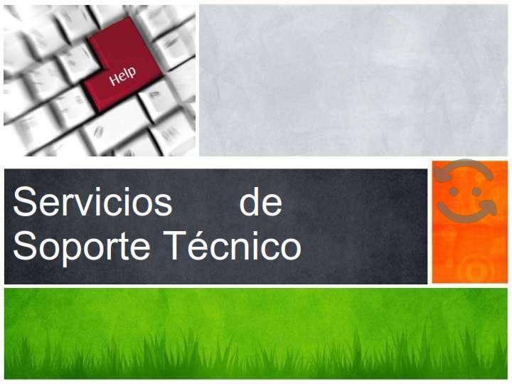 Servicios de soporte tecnico