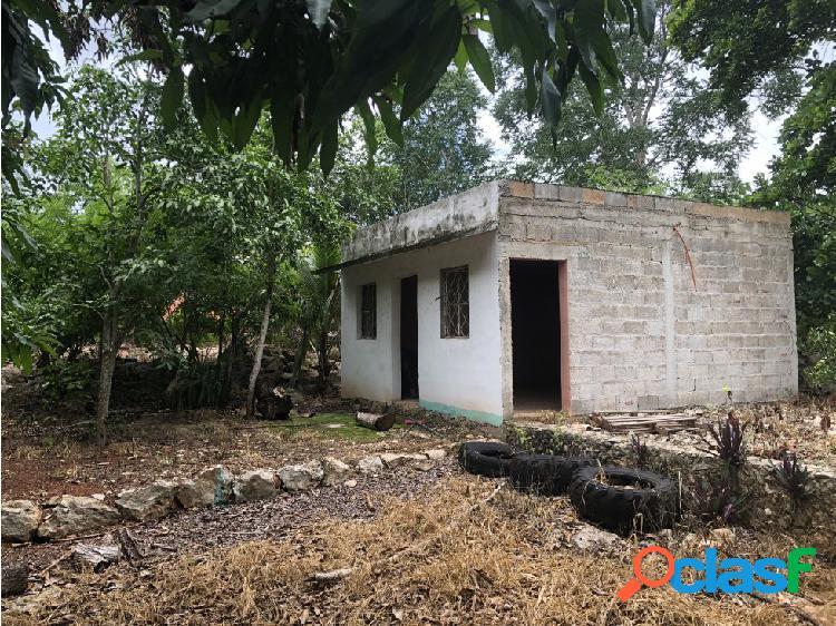 Terreno con construcción san francisco a la venta