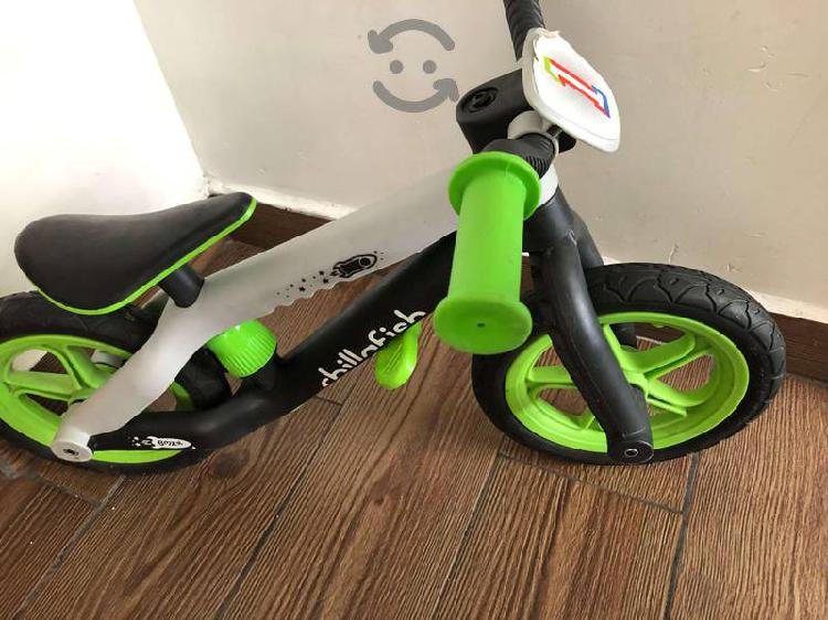 Bicicleta chillafish verde