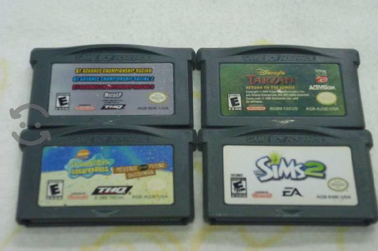 Juegos gameboy advanced (paquete)