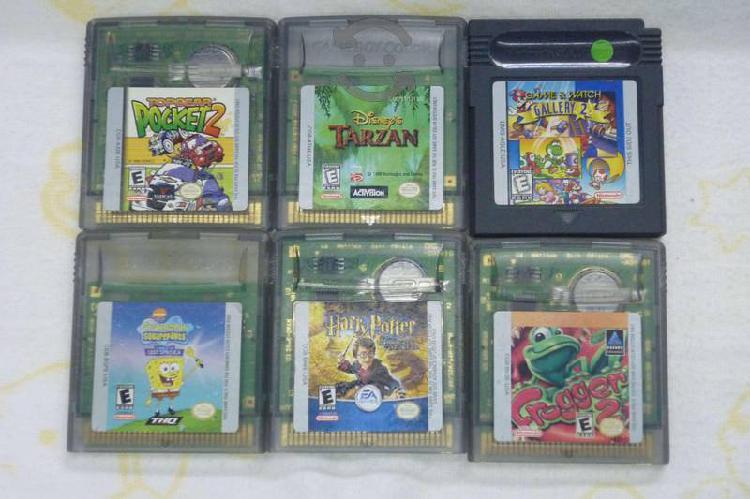 Juegos para gameboy (paquete)