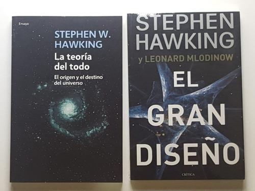 La teoría del todo / el gran diseño / stephen hawking