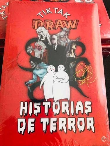Libro historias de terror / tik tak draw a color