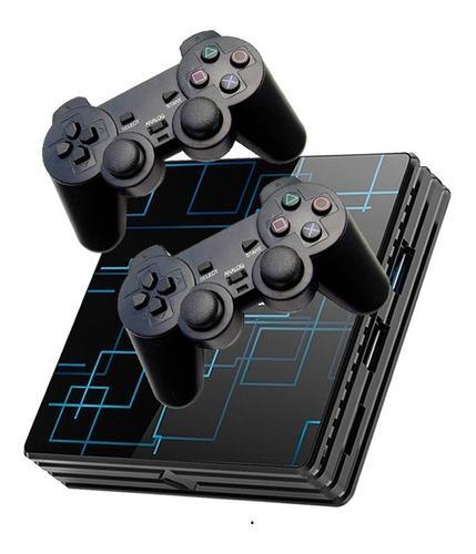Mini consola retro 4gb ram 100gb snes ps1 n64 4 inalambricos