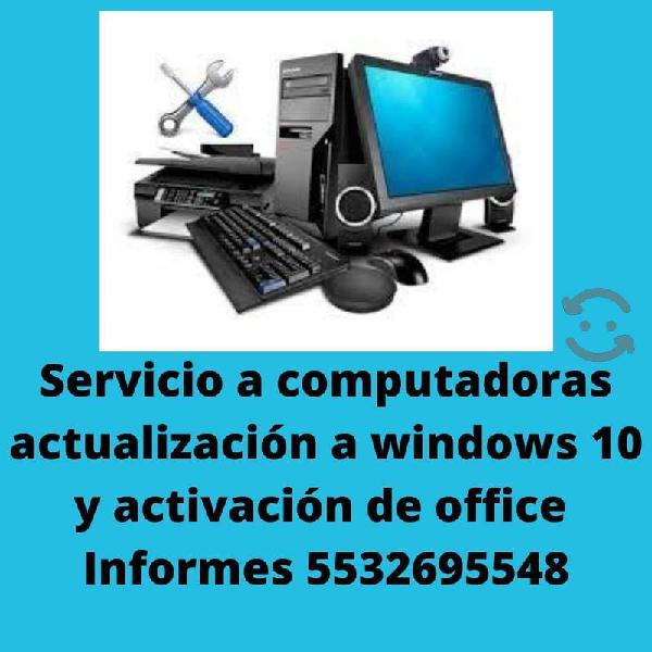 Servicios técnicos para equipos de computación