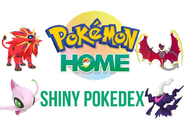 Shiny pokemon home